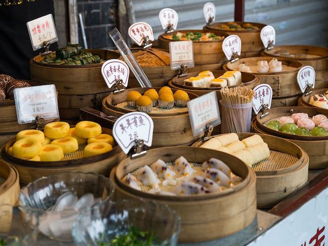 Asian desserts in different parts of the world